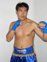 Somran Khamsing boxeur muay thai olympique classe a rmboxing