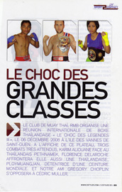 Article sur le rmboxing saint ouen par Sport Contact