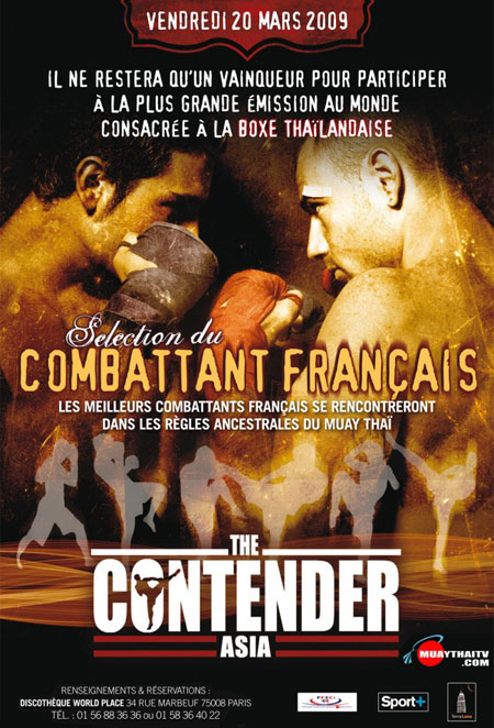 Contender Asia – France