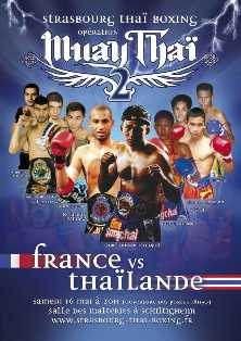 Gala International France-Thailande à Strasbourg