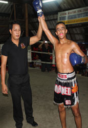 Mohamed Belgacem (RMBoxing St Ouen) vs Peack