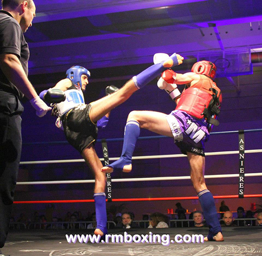 mohamed amziane rmboxing gala a asnieres