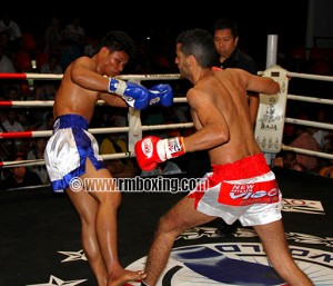 Mohamed Amziane (RMBOXING) au World Boxing Pattaya