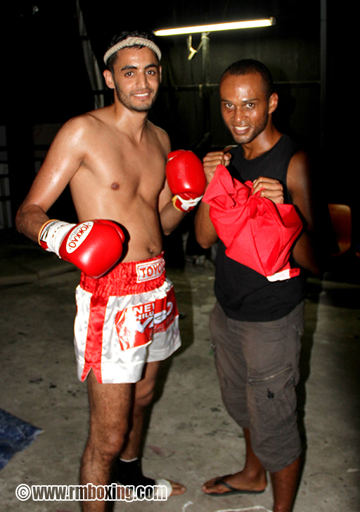 Mohamed Amziane et Adama Aubry au World Boxing Pattaya