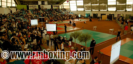 Coupe de france à l'ile des Vannes RMBOXING ( championnat de france educatif )