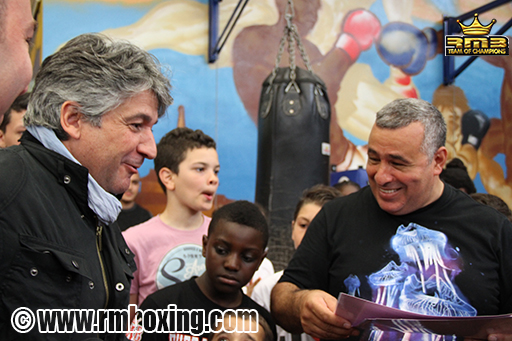 William Delannoy maire de saint ouen avec rachid saadi
