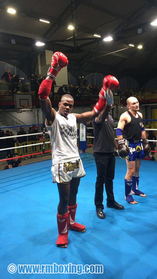 samuel tisme (rmboxing) champion ile de France