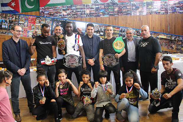 champion de france FFKMDA zoheir mosbah rachid saadi mohamed bentahar cyril plomb foudil ait-chabanne rmboxing
