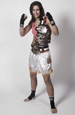 Florence Delaroche (Team RMB) Classe A assault en ireland