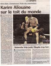 Parisien Article sur Karim Aliouane rmboxing