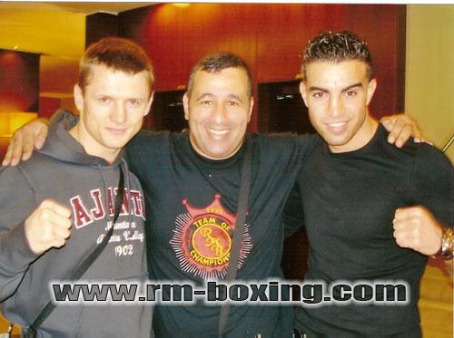 Logish , El Amrani et Rachid Saadi